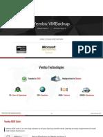 Vembu VMBackup Presentation