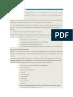 Estructura Del Nivel Medio (Res 84-09 Del CFE)