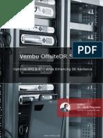 Vembu Offsitedr Server Whitepaper