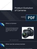product evolution of cameras