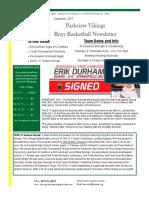 issue 1 boys basketball newsletter