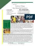 issue 2 boys basketball newsletter
