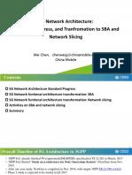 Wei Chen - 5G Network Architecture