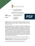 Programa de Curso (Microeconomia I - EAE210B)