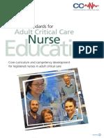 Nat Strds Adult CC Nurse Ed