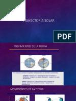 Trayectoría Solar