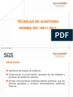TÉCNICAS AUDITORIA