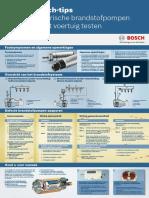 Bosch Poster Testen Brandstofpompen
