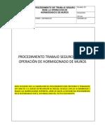 40 Pts 52 Procedimiento de Trabajo Seguro Para La Operacion de Hormigonado de Muros