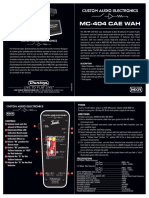 Cae Mc404 Manual