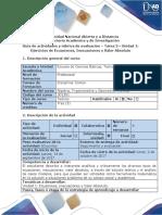 Guía de actividades y rubrica de evaluación Tarea 3- Desarrollar ejercicios de Ecuaciones, Inecuaciones y Valor Absoluto - A