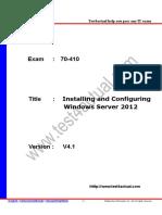 Test4actual 70-410 V4.1