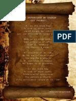 Poema Las Palmas