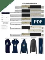 spiritwear 2017 order form