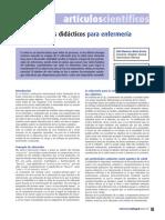 Metodos Didácticos en Enfermerìa