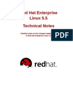 Red Hat Enterprise Linux 5.5 Technical Notes en US