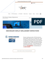 Hirschmann Display Replacement _ CLICK HERE