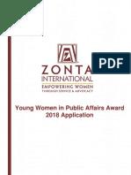 ywpa 2018 application