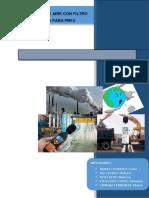 Depuracion de Aire Con Filtro de Mangas Para Pm10