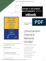 ¿Cómo Calculo El Costo de La Mercancía Vendida_ – Gerencia Retail