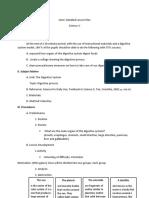 Lesson Plan Demo - Digestive System