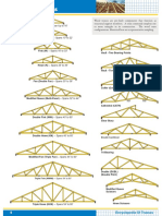 Wood Truss Configuration