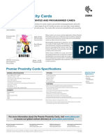 Proximity Card Product Spec Sheet en Us Gl a4