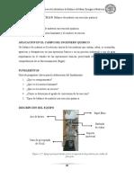 Práctica 5 Balance de Materia Con Reacción Química