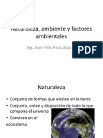 3Naturaleza, Ambiente y Factores Ambientales