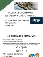 Teoria Del Consumo