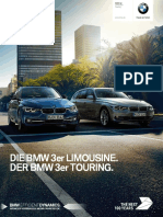 BMW 3er Limousine Touring Katalog