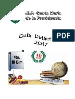4to Año - III Bim - Compendio 2017