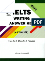Alex Marin Ielts Writing Answer Key Maximiser Standard
