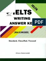 Alex Marin Ielts Writing Answer Key Maximiser Standard