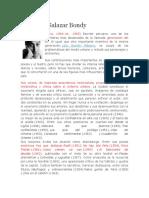 1. Biografia de Sebastián Salazar Bondy