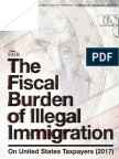 Fiscal Burden of Illegal Immigration 2017