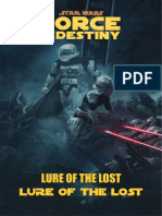 SWRPG Force and Destiny Adventure Template - PDF