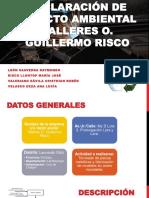 Dia Talleres o. Guillermo Risco