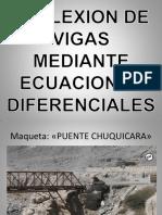 Deflexion de Vigas Mediante Ecuaciones Diferenciales