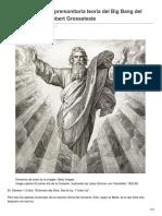 La Extraordinaria y Premonitoria Teoría Del Big Bang Del Obispo Medieval Robert Grosseteste