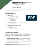 Elders Governance
