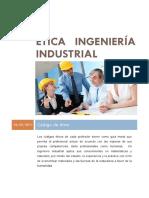 Ética Ingeniería Industrial