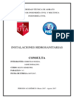 INSTALACIONES HIDROSANITARIAS