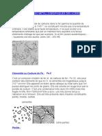 Structures Metallographiques Des Aciers