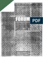Forum Cahier de Exercises 2