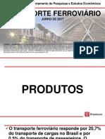 Infset Transporte Ferroviario Em 2017