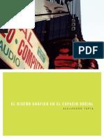 Alejandro Tapia El Diseño Gráfico en El Espacio Social