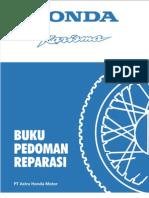 Buku Pedoman Reparasi Honda Karisma 125