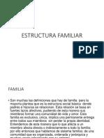 3. Estructura Familiar