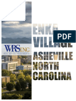 Proposed Enka Village project in Asheville, North Carolina